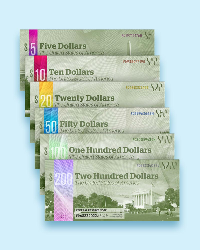 US currency redesign